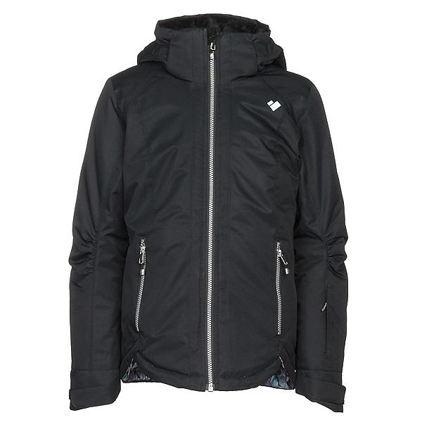 Obermeyer Kenzie Girls Ski Jacket, Black, 600