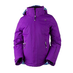Obermeyer Kenzie Girls Ski Jacket, Violet Vibe, 256