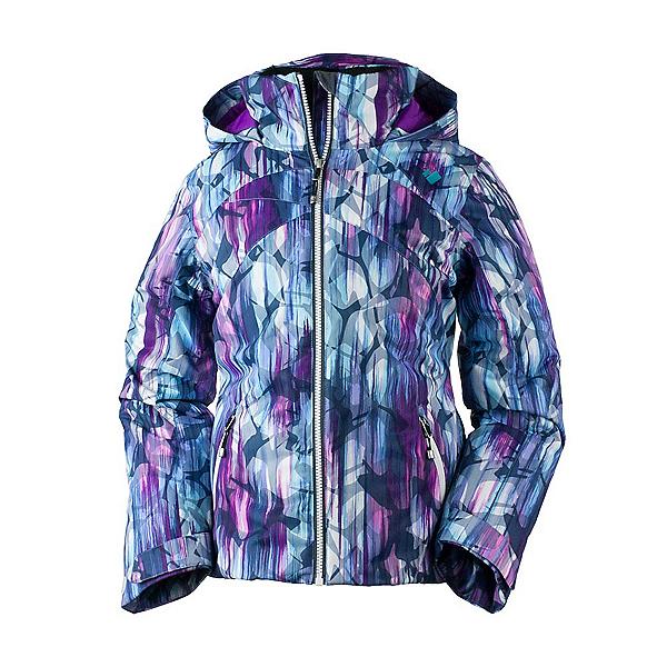 Obermeyer Tabor Print Girls Ski Jacket, Escape Print, 600