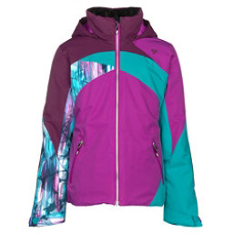 Obermeyer Tabor Girls Ski Jacket, Violet Vibe, 256