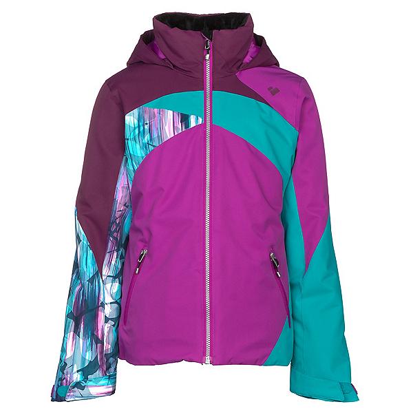 Obermeyer Tabor Girls Ski Jacket, Violet Vibe, 600