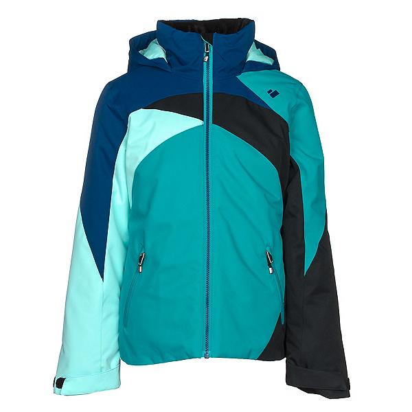 Obermeyer Tabor Girls Ski Jacket, Mermaid, 600