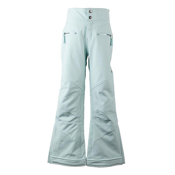 Obermeyer Jolie Softshell Girls Ski Pants, Sea Glass, 600