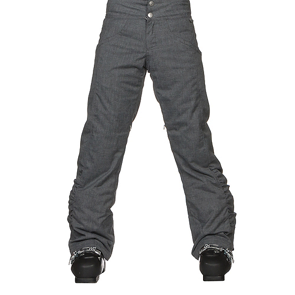 Obermeyer Jessi Girls Ski Pants, Light Heather Grey, 600