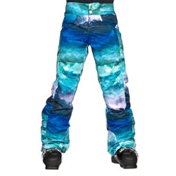 Obermeyer Jessi Girls Ski Pants, Elevation Print, 256