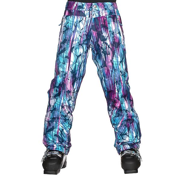 Obermeyer Brooke Girls Ski Pants, Escape Print, 600