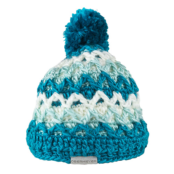 Obermeyer Averee Knit Kids Hat, Mermaid, 600