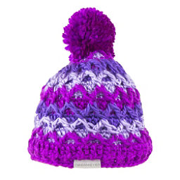 Obermeyer Averee Knit Kids Hat, Violet Vibe, 256