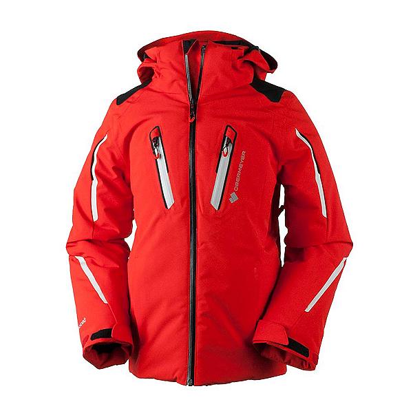 Obermeyer Mach 8 Boys Ski Jacket, Red, 600