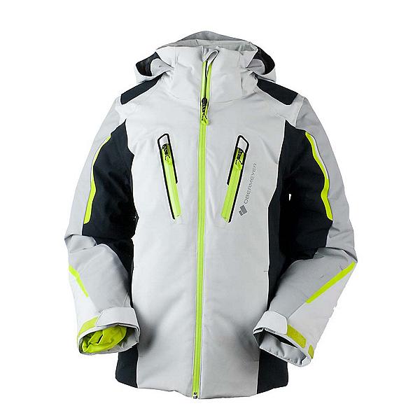 Obermeyer Mach 8 Boys Ski Jacket, Fog, 600