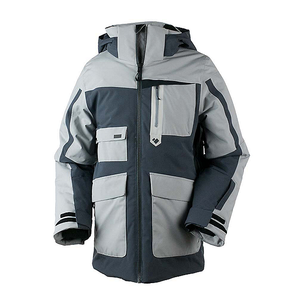 Obermeyer Axel Boys Ski Jacket, Ebony, 600