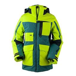 Obermeyer Axel Boys Ski Jacket, Green Flash, 256