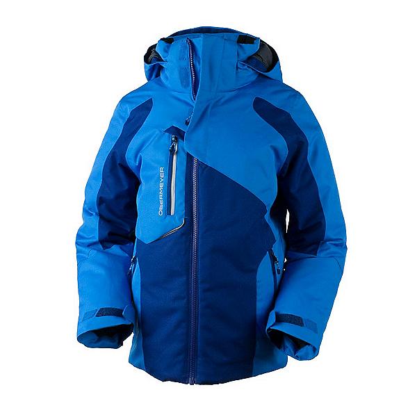 Obermeyer Outland Boys Ski Jacket, Stellar Blue, 600