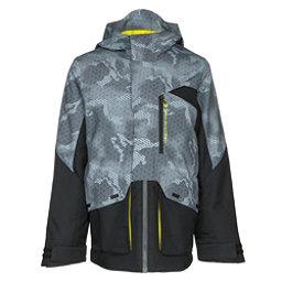 Obermeyer Gage Boys Ski Jacket, Black, 256