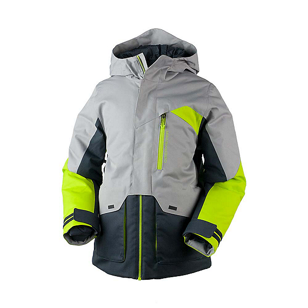 Obermeyer Gage Boys Ski Jacket, Green Flash, 600