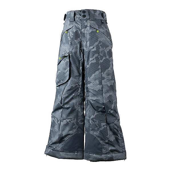 Obermeyer Porter Kids Ski Pants 2018, Grey Bit Camo, 600