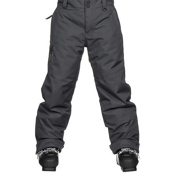 Obermeyer Brisk Kids Ski Pants, Ebony, 600