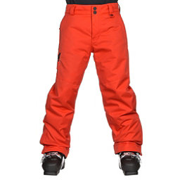 Obermeyer Brisk Kids Ski Pants, Red, 256