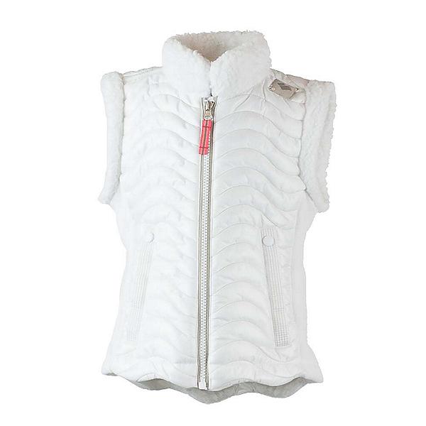 Obermeyer Snuggle-Up Toddler Girls Vest, White, 600