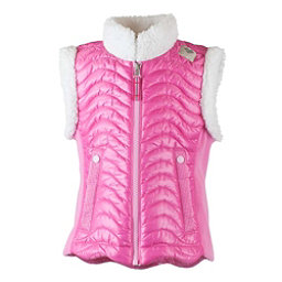 Obermeyer Snuggle-Up Toddler Girls Vest, Smitten Pink, 256