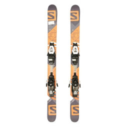 Used 2015 Salomon NFX Jr Boys Skis With Salomon C5 Bindings C, , 256