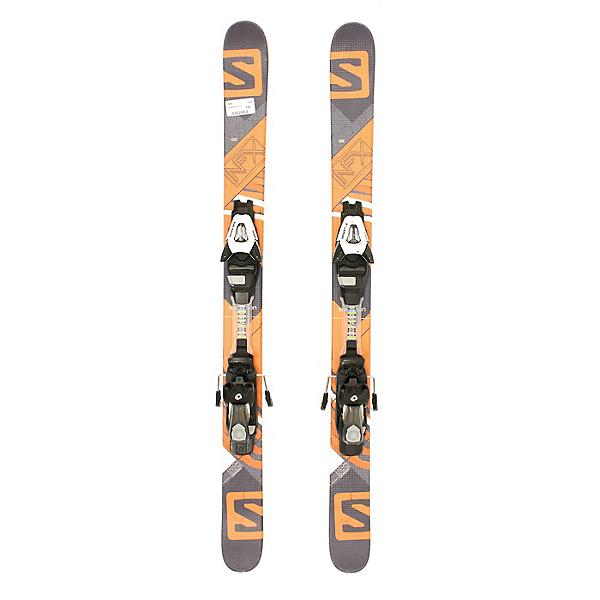 Used 2015 Salomon NFX Jr Boys Skis With Salomon C5 Bindings C, , 600