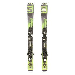 Used 2016 Salomon QMAX Jr Skis with EZYTRAK Bindings C, , 256