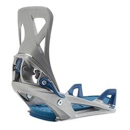 Burton Step On Snowboard Bindings 2018, Silver, 256