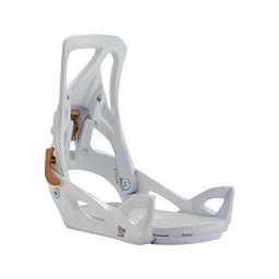 Burton Step On Womens Snowboard Bindings 2018, White, 256