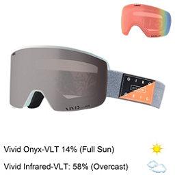 Giro Axis Goggles 2018, Grey Piste Out-Vivid Onyx + Bonus Lens, 256