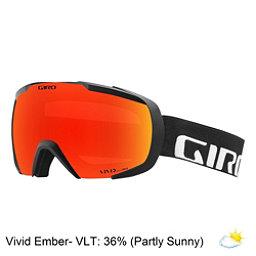 Giro Onset Goggles 2018, Black Wordmark-Vivid Ember, 256