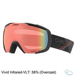 Giro Onset Goggles 2018, Black Wordmark-Vivid Infrared, 256