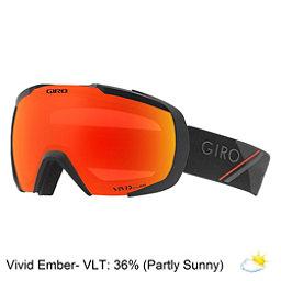 Giro Onset Goggles 2018, Black Red Sport Tech-Vivid Emb, 256