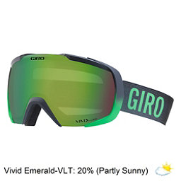 Giro Onset Goggles 2018, Bright Green Turb Fade-Vivid E, 256