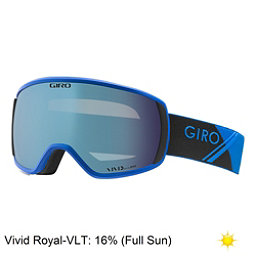 Giro Balance Goggles 2018, Blue Sport Tech-Vivid Royal, 256