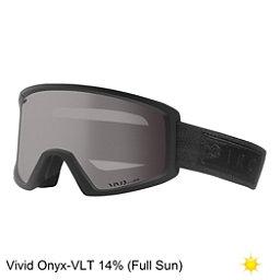 Giro Blok Goggles 2018, Black Bar-Vivid Onyx, 256