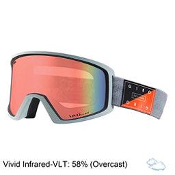 Giro Blok Goggles 2018, Grey Piste Out-Vivid Infrared, 256