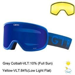 Giro Roam Goggles 2018, Blue Horizon-Grey Cobalt + Bonus Lens, 256