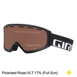 Giro Index OTG Goggles, Black Wordmark-Polarized Rose, 256