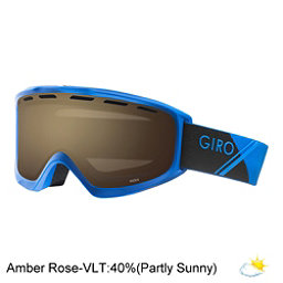 Giro Index OTG Goggles 2018, Blue Sport Tech-Amber Rose, 256
