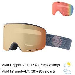 Giro Ella Womens Goggles 2018, Berry Mtn Division-Vivid Coppe + Bonus Lens, 256