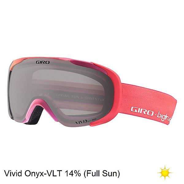 Giro Field Womens Goggles 2018, Big Truck-Vivid Onyx, 600