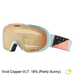 Giro Field Womens Goggles, Mist Piste Out-Vivid Copper, 256