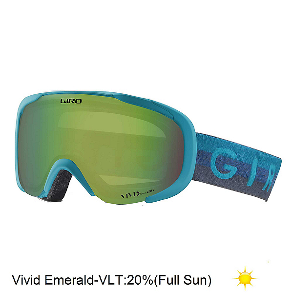 Giro Field Womens Goggles 2018, Full Sun, 600