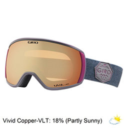 Giro Facet Womens Goggles 2018, Berry Mtn Division-Vivid Coppe, 256