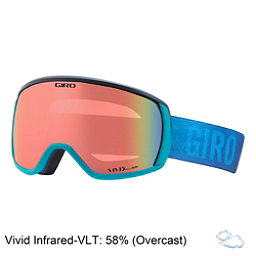 Giro Facet Womens Goggles, Marine Faded-Vivid Infrared, 256