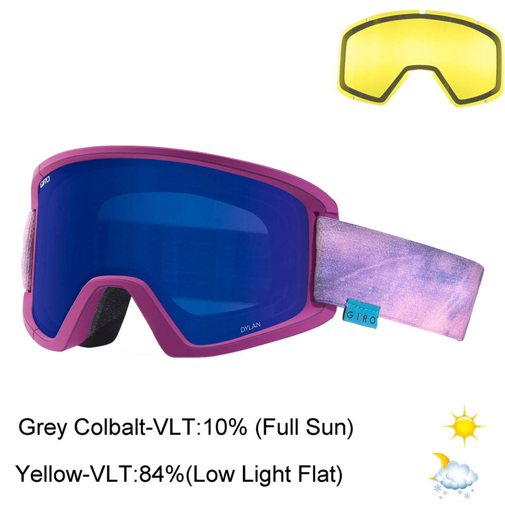 bda9805a1776 Shop for Purple Giro Ski Goggles at Skis.com
