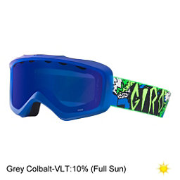 Giro Grade Youth Goggles, Blue Green Roar-Grey Cobalt, 256