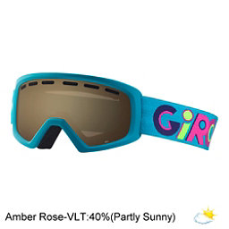 Giro Rev Youth Goggles 2018, Wild Girl-Amber Rose, 256
