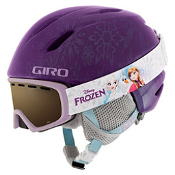 Giro Launch Combo Pack Kids Helmet 2018, Purple Disney Frozen, 256